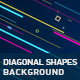 Diagonal Shapes Background - VideoHive Item for Sale
