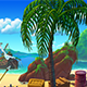Parallax Beach Background