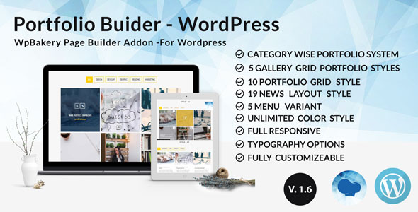 XG Portfolio - Grid masonry portfolio filter plugin for Wpbakery Page Builder (visual composer)            Nulled