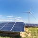 wind farm and photovoltaic power station - PhotoDune Item for Sale