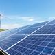 wind turbine and solar panels for renewable energy - PhotoDune Item for Sale
