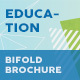Education Bifold / Halffold Brochure 11 - GraphicRiver Item for Sale