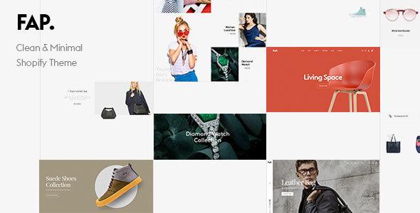 Fap - Clean & Minimal Shopify Theme