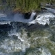 Ristafallet Waterfall in the Western Part of Jamtland - VideoHive Item for Sale