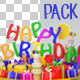 Birthday Plate Pack - VideoHive Item for Sale