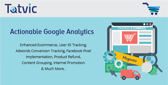 Actionable Google Analytics for Magento - CodeCanyon Item for Sale
