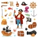 Pirate Vector - GraphicRiver Item for Sale