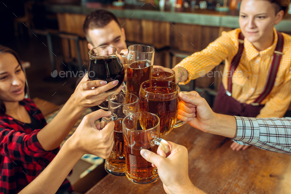 people, leisure, friendship and communication concept  - Stock Photo - Images