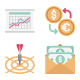 Business and Finance Color Vector Icons Set - GraphicRiver Item for Sale