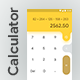 Modern Calculator App UI - GraphicRiver Item for Sale