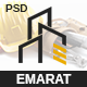 Emarat - Construction and Architecture PSD Template - ThemeForest Item for Sale