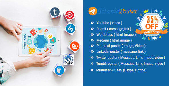 TitanicPoster - Start Growing Your Social Media Presence Now            Nulled