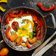 Fried egg with a bell pepper and tomatoes - PhotoDune Item for Sale