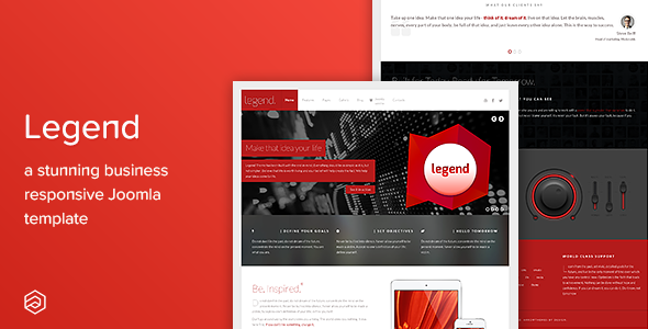 Legend - Responsive Multi-Purpose Joomla Template - Corporate Joomla