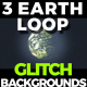 Glitch Earth Loop - VideoHive Item for Sale