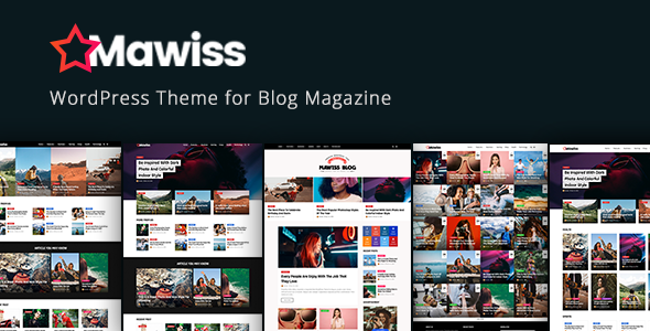 Image of Mawiss - WordPress Blog Magazine Theme
