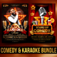 Comedy and Karaoke Bundle - GraphicRiver Item for Sale