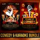 Comedy and Karaoke Bundle
