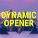 FCP Dynamic Opener - VideoHive Item for Sale