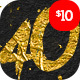 40 Gold Text Effects Bundle - GraphicRiver Item for Sale