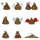 Vector Set of Cartoon Turd Characters - GraphicRiver Item for Sale