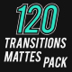 120 Transition Mattes Pack - VideoHive Item for Sale
