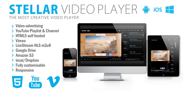 Stellar Video Player - CodeCanyon Item for Sale
