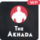 The Akhada Fitness WordPress Theme - ThemeForest Item for Sale
