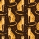 Seamless Pattern with Cheetahs