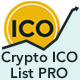 Crypto ICO List Widgets Pro-WordPress ICO Database Plugin