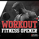 Workout Fitness Opener - VideoHive Item for Sale