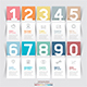 Modern Infographic Number Options Template - GraphicRiver Item for Sale