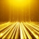 Gold Particals Flow Background - VideoHive Item for Sale