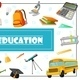 Flat Education Concept - GraphicRiver Item for Sale