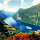 Breathtaking view of Sunnylvsfjorden fjord - PhotoDune Item for Sale