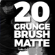 20 Grunge Brush Transitions - VideoHive Item for Sale