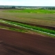 Drone Shot of Fertile Green Fields - VideoHive Item for Sale