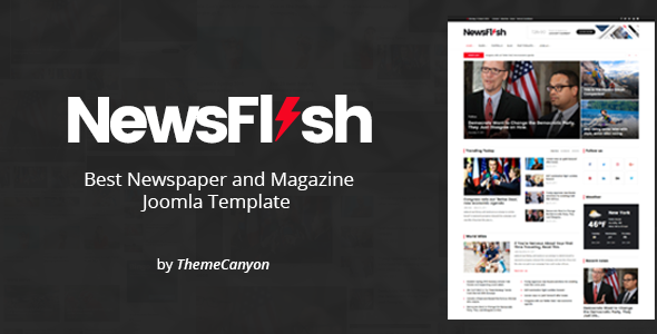 Newsflash Joomla News Magazine Template By Themecanyon Themeforest