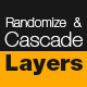 Randomize and Cascade Layers - VideoHive Item for Sale