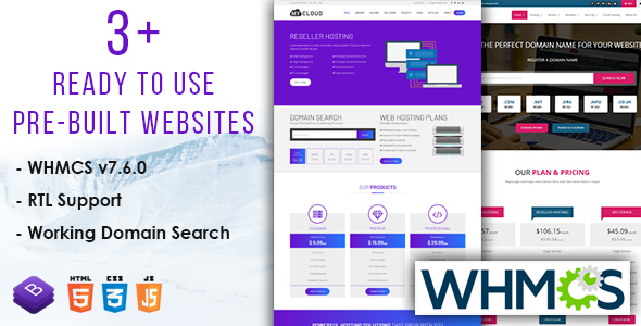 Cloud Host - WHMCS Responsive Hosting Template - Hosting Technology