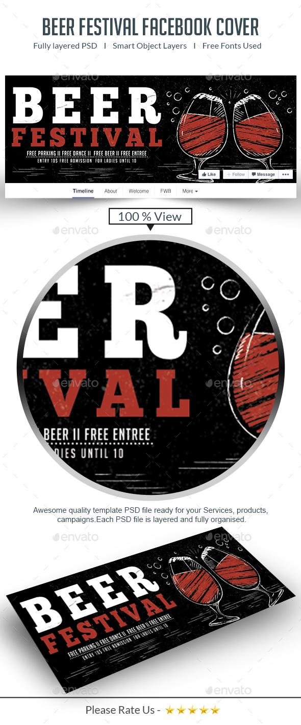 Beer Fest Facebook Cover - Facebook Timeline Covers Social Media