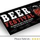 Beer Fest Facebook Cover - GraphicRiver Item for Sale