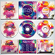 Colorful CD/DVD Album Covers Bundle Vol. 10 - GraphicRiver Item for Sale