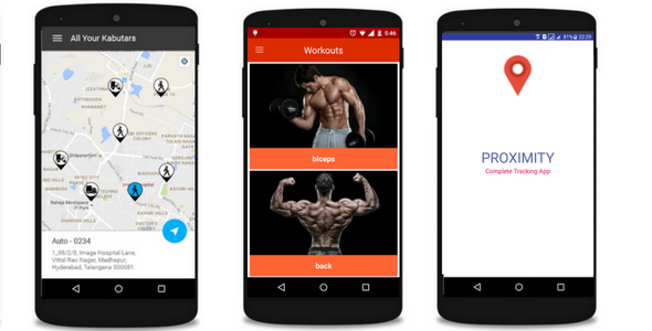 Tracking app and Fitness app            Nulled