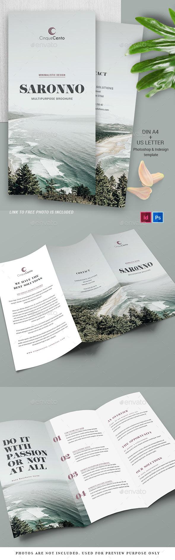 Multipurpose Trifold Brochure - Vol.2 - Brochures Print Templates