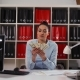 Business Woman with Money Dollars in Hands - VideoHive Item for Sale