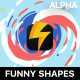 Funny Abstract Shapes - VideoHive Item for Sale