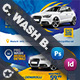 Car Wash Business Card Bundle Templates - GraphicRiver Item for Sale