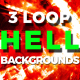Fall Into Hell Background - VideoHive Item for Sale