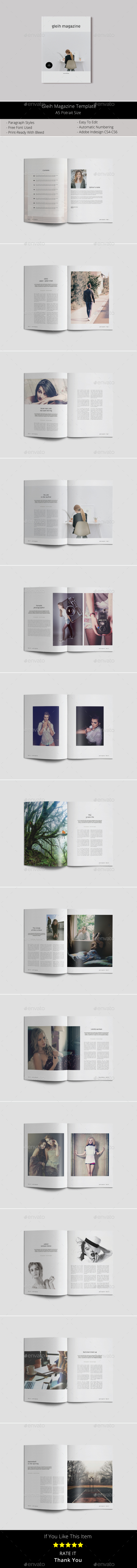 A5 Gleih Magazine - Magazines Print Templates